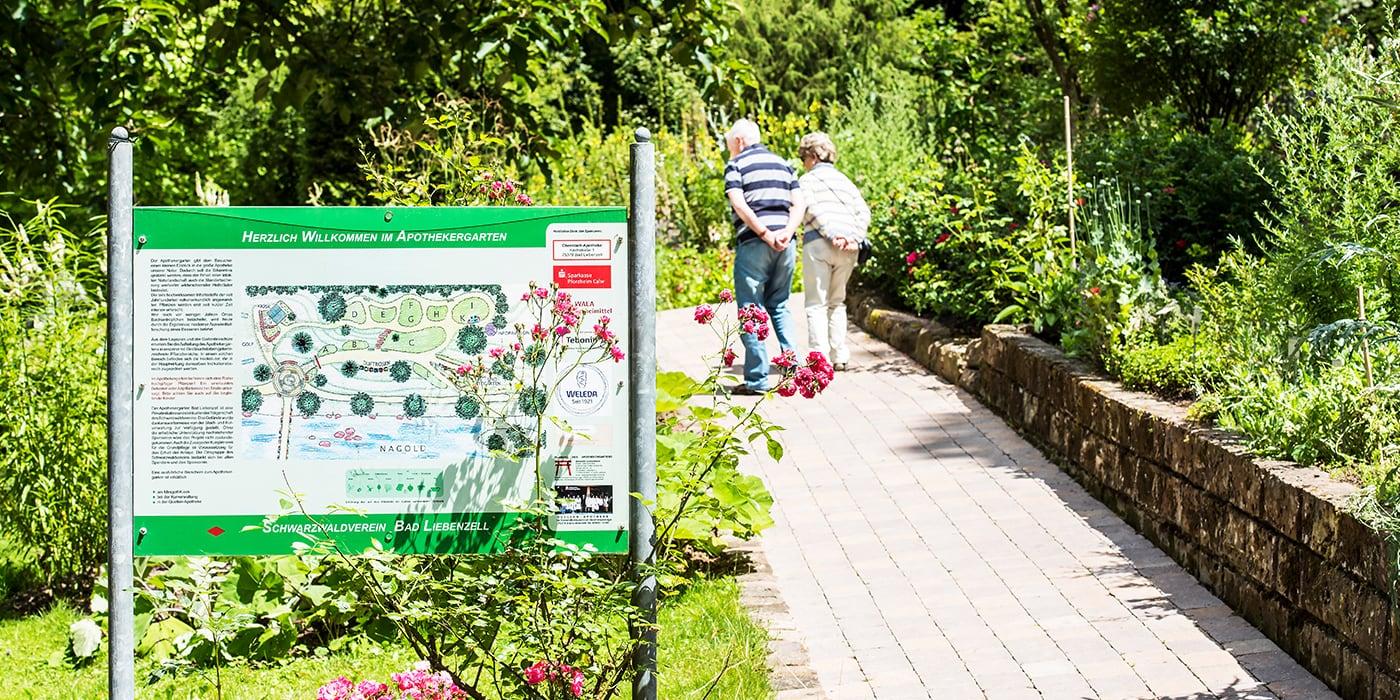 Apothekergarten im Kurpark Bad Liebenzell