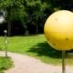 Planetenweg im Kurpark Bad Liebenzell